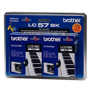 Brother-LC57-Black-Ink-Cartridge-Twin-Pack