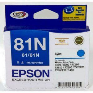 Epson-81-Cyan-Ink