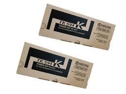 2 Pack Genuine Kyocera TK-8339K Black Toner Cartridge Set TASKAlfa-3252ci